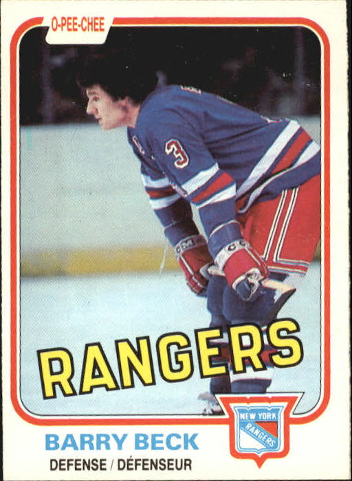 1981-82 O-Pee-Chee #220 Barry Beck