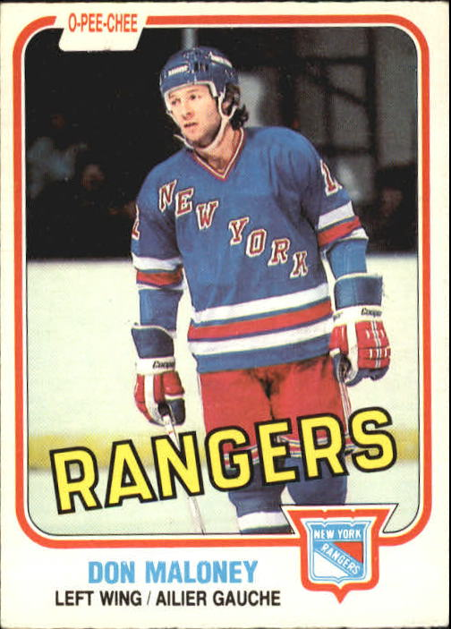 1981-82 O-Pee-Chee #228 Don Maloney