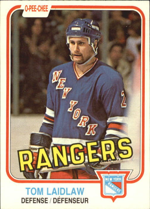 1981-82 O-Pee-Chee #234 Tom Laidlaw RC