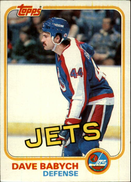 1981-82 Topps #1 Dave Babych RC