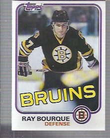 1981-82 Topps #5 Ray Bourque