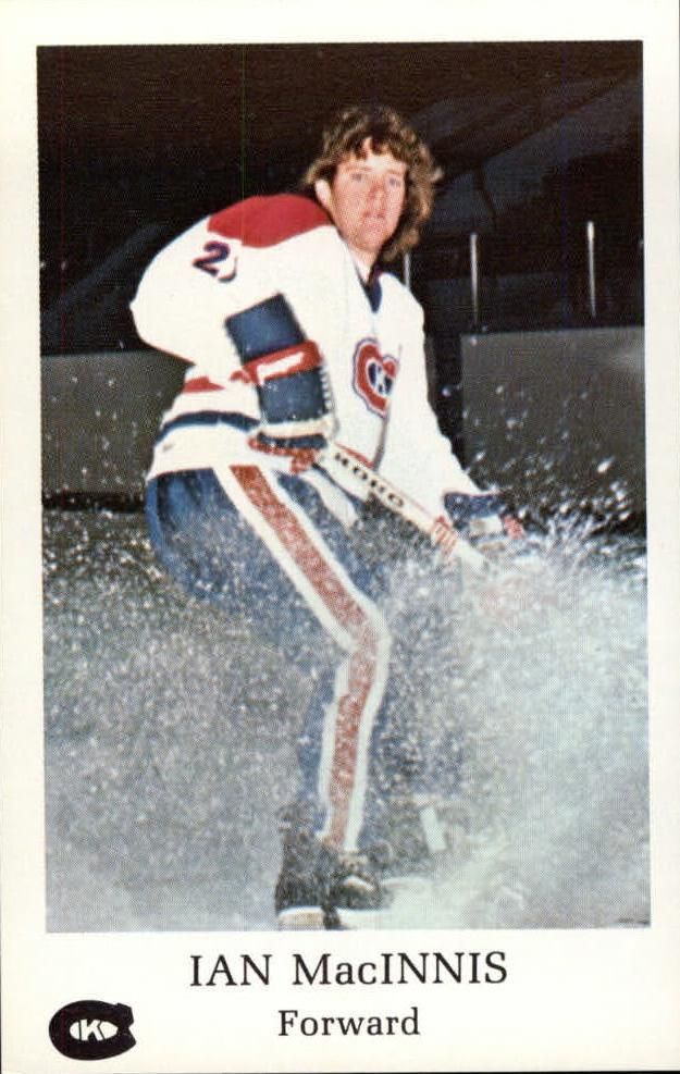 1981-82 Kingston Canadians #7 Ian MacInnis