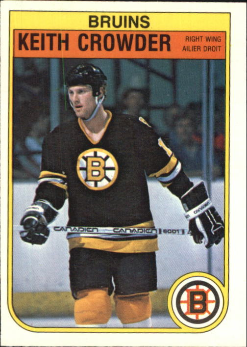1982-83 O-Pee-Chee #10 Keith Crowder RC