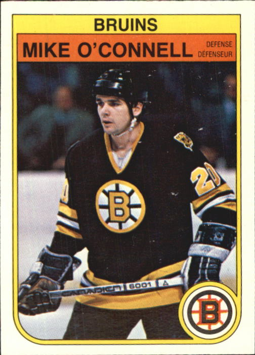 1982-83 O-Pee-Chee #17 Mike O'Connell