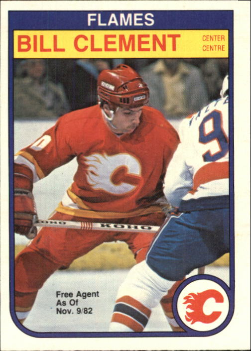 1982-83 O-Pee-Chee #44 Bill Clement