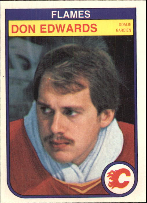 1982-83 O-Pee-Chee #46 Don Edwards