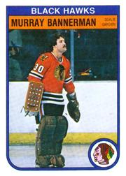 1982-83 O-Pee-Chee #61 Murray Bannerman