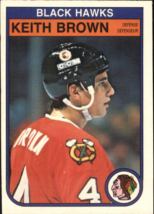 1982-83 O-Pee-Chee #62 Keith Brown