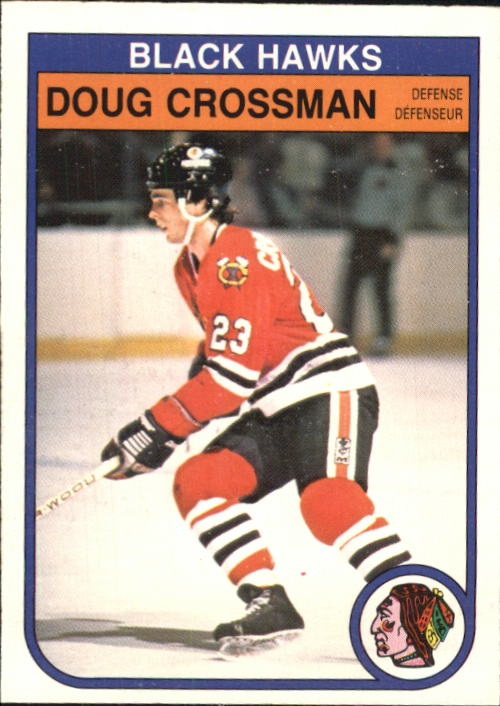 1982-83 O-Pee-Chee #63 Doug Crossman RC