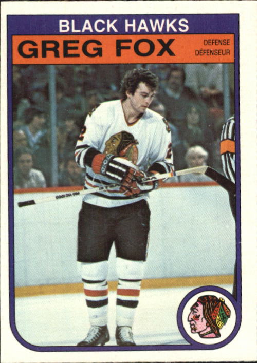 1982-83 O-Pee-Chee #65 Greg Fox