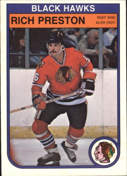1982-83 O-Pee-Chee #71 Rich Preston
