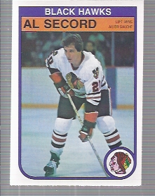 1982-83 O-Pee-Chee #74 Al Secord
