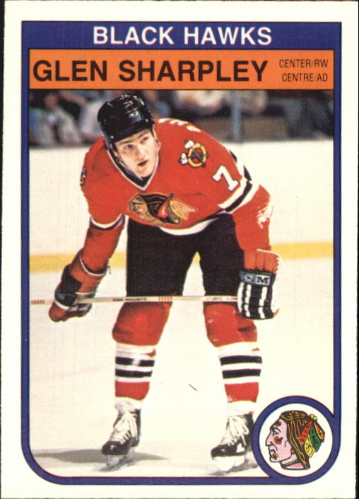 1982-83 O-Pee-Chee #75 Glen Sharpley