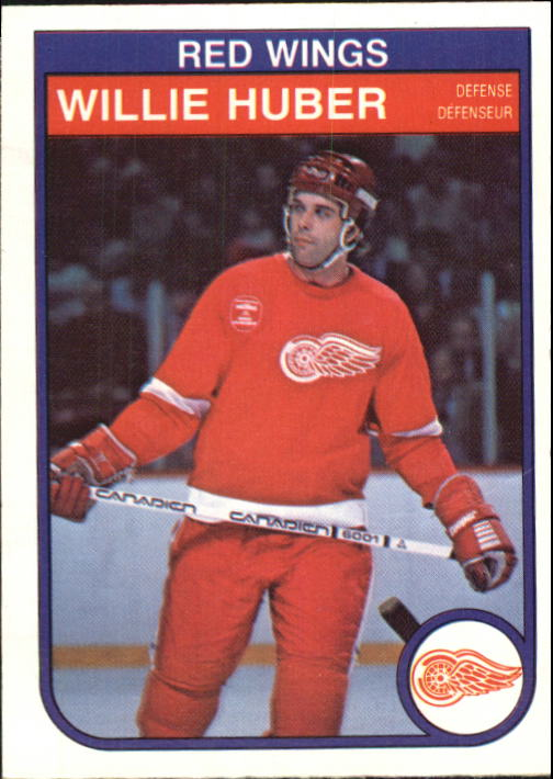 1982-83 O-Pee-Chee #85 Willie Huber