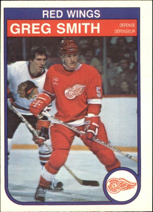 1982-83 O-Pee-Chee #96 Greg Smith