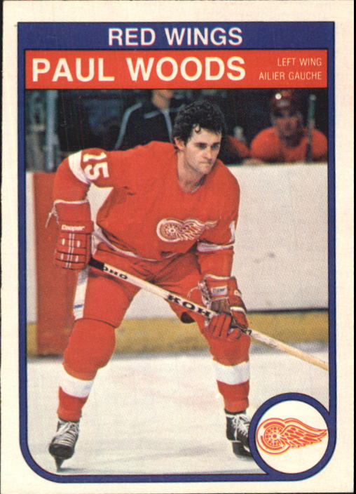 1982-83 O-Pee-Chee #98 Paul Woods