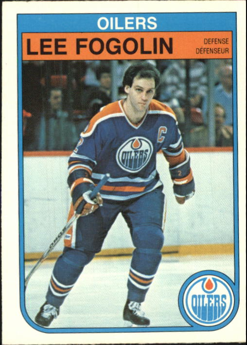 1982-83 O-Pee-Chee #104 Lee Fogolin
