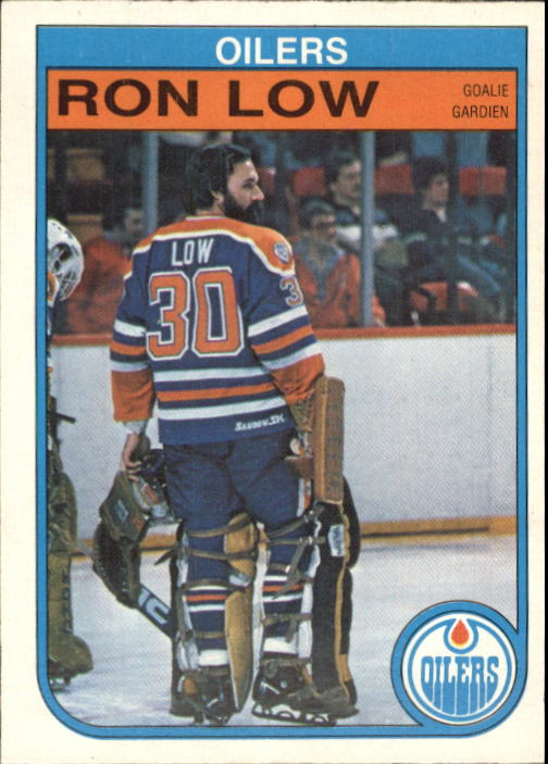 1982-83 O-Pee-Chee #112 Ron Low