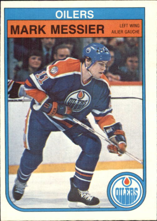 1982-83 O-Pee-Chee #117 Mark Messier