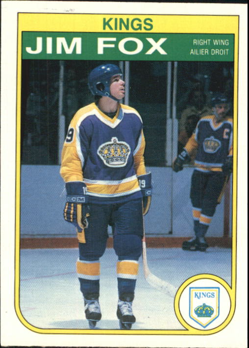 1982-83 O-Pee-Chee #154 Jim Fox