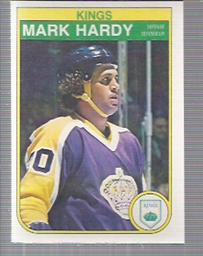 1982-83 O-Pee-Chee #155 Mark Hardy RC