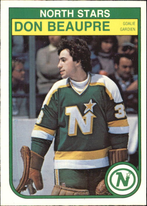 1982-83 O-Pee-Chee #163 Don Beaupre