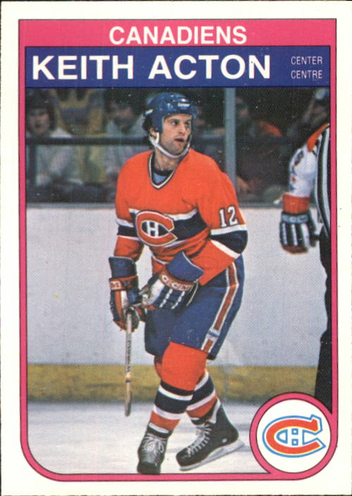 1982-83 O-Pee-Chee #179 Keith Acton