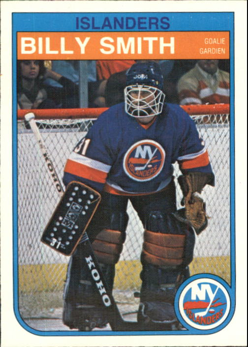 1982-83 O-Pee-Chee #211 Billy Smith
