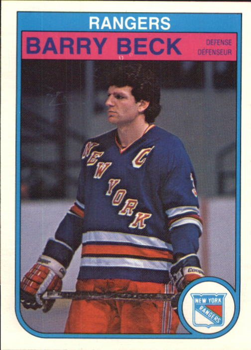 1982-83 O-Pee-Chee #219 Barry Beck