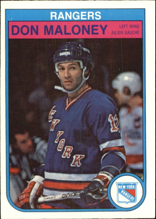 1982-83 O-Pee-Chee #229 Don Maloney
