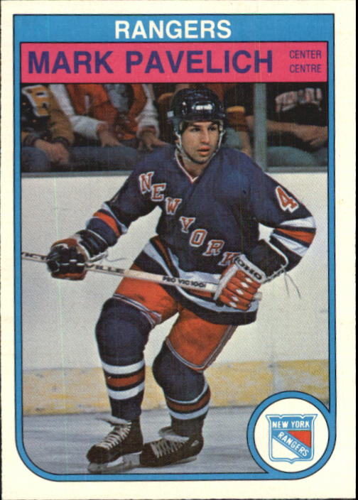 1982-83 O-Pee-Chee #231 Mark Pavelich RC