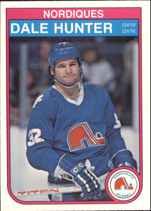 1982-83 O-Pee-Chee #285 Dale Hunter
