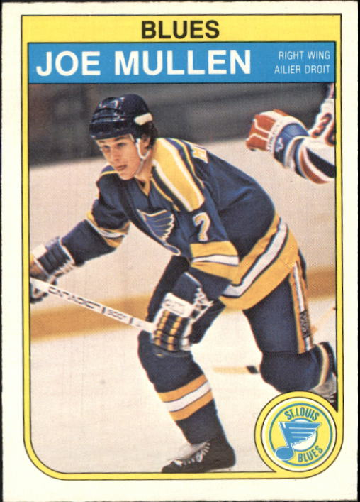 1982-83 O-Pee-Chee #307 Joe Mullen RC