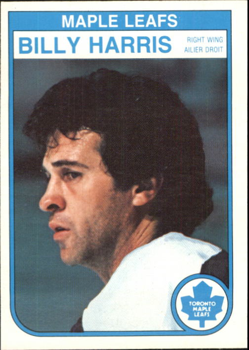 1982-83 O-Pee-Chee #322 Billy Harris