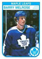 1982-83 O-Pee-Chee #328 Barry Melrose