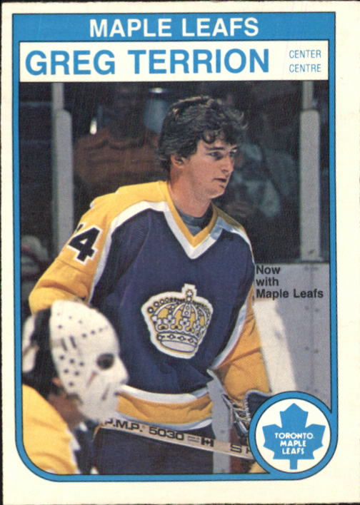 1982-83 O-Pee-Chee #333 Greg Terrion