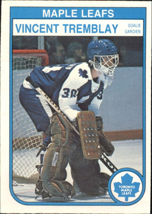 1982-83 O-Pee-Chee #334 Vincent Tremblay RC