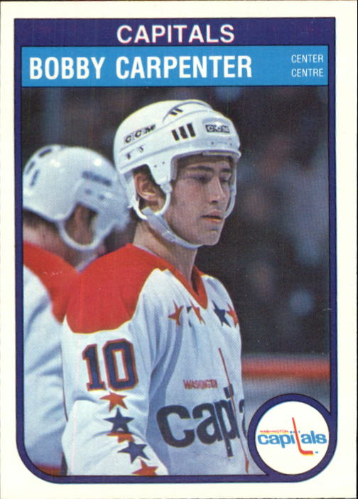 1982-83 O-Pee-Chee #361 Bobby Carpenter RC