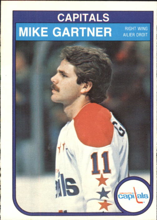 1982-83 O-Pee-Chee #363 Mike Gartner