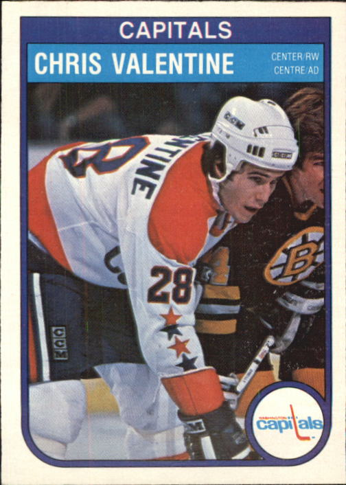 1982-83 O-Pee-Chee #373 Chris Valentine RC