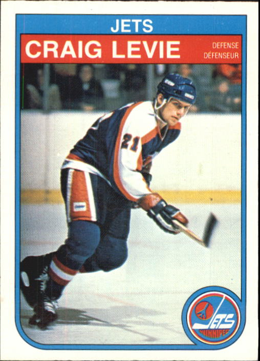 1982-83 O-Pee-Chee #382 Craig Levie RC