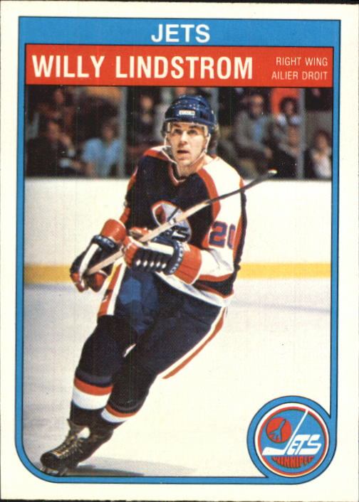 1982-83 O-Pee-Chee #384 Willy Lindstrom