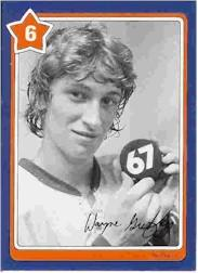 1982-83 Neilson's Gretzky #6 Taping your Stick