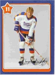 1982-83 Neilson's Gretzky #11 General Equipment Care