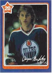 1982-83 Neilson's Gretzky #20 The Wrist Shot