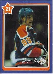 1982-83 Neilson's Gretzky #21 The Back Hand Shot