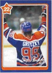 1982-83 Neilson's Gretzky #22 The Slap Shot