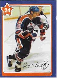 1982-83 Neilson's Gretzky #24 Pass Receiving