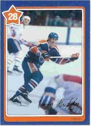 1982-83 Neilson's Gretzky #28 One On One