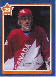 1982-83 Neilson's Gretzky #29 Keep Your Head Up